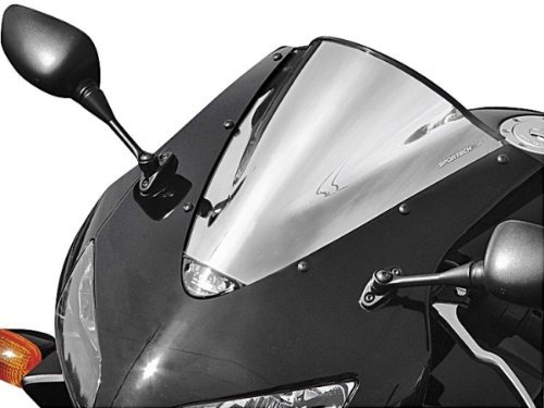Sportech V-Flow Chrome Series Windscreen for 2009-2010 Yamaha (Sportech V-flow Chrome Windscreen)