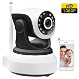SDETER IP Camera 1080P HD Wireless -Security Camera with PTZ,Two-way Audio, Night Vision, home security camera system Motion Detection Indoor Camera