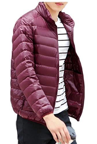 TTYLLMAO Men's Ultra-Lightweight Packable Outwear Down Jacket Coat 3