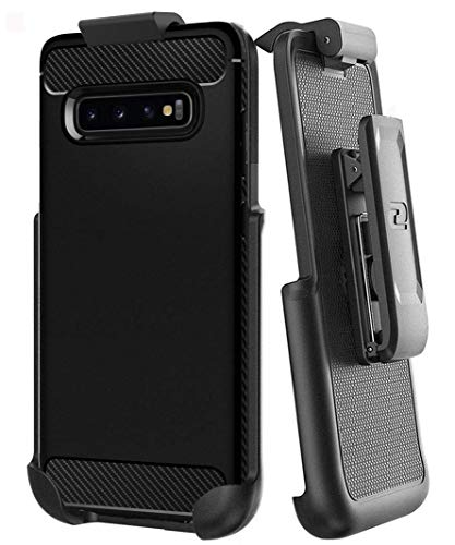 Encased Belt Clip for Spigen Rugged Armor - Samsung Galaxy S10 Plus (Holster Only - Case not Included)