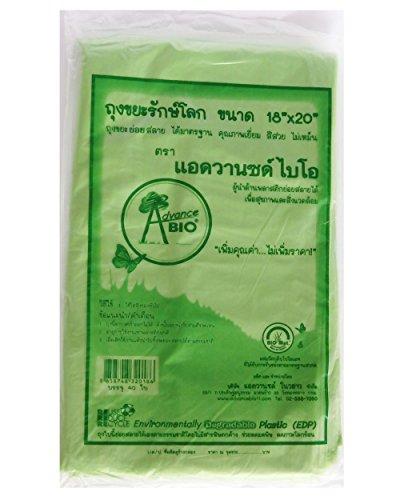 Wasabi Cleansing Green (Amatahouse Green Wastebasket Bags Small Bags 18