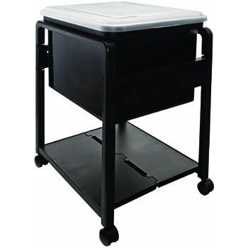 rolling file cart staples this item folding lid letter legal size black target walmart
