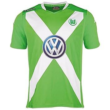 Kappa VFL - Camiseta de fútbol de manga corta, diseño del Wolfsburg verde verde Talla:XXXL: Amazon.es: Deportes y aire libre