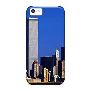 Quality ConnieJCole Case Cover With World Trade Center 9 11 01 Nice Appearance Compatible With Iphone 5c