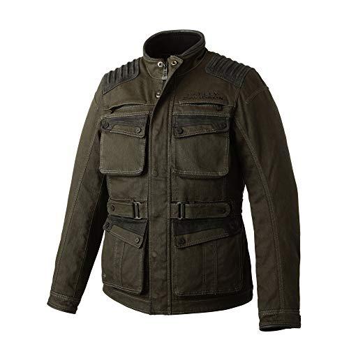Harley-Davidson Official Men's Trego Stretch Slim Fit Riding Jacket, Green