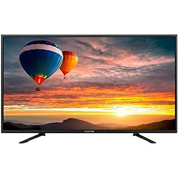 "Sceptre U438CV-UMC 43"" Ultra HD 4K TV, Black"