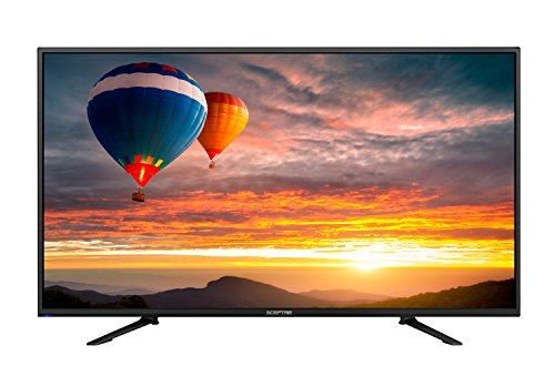 "Sceptre 43"" 4K UHD LED TV, HDMI 2.0 HDCP 2.2 MEMC 120, Metal"