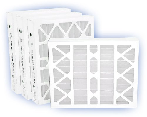 Airguard Panel Filter Pleated Air - 16x25x4 (15-1/2x24-1/2) DP MAX40 Pleated Panel Filter MERV 8 4-Pack