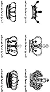 Temporary Tattoos, Small Size Body Art Stickers, Most Popular Fake Tattoo Designs as Cross/Star/Letters/Butterfly/Compass/Bird/Cat/Feather etc. - 654