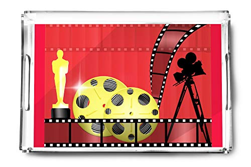 Oscar Awards- Illustration A-92273 (Acrylic Serving Tray) (Diamond Award Acrylic Beveled)