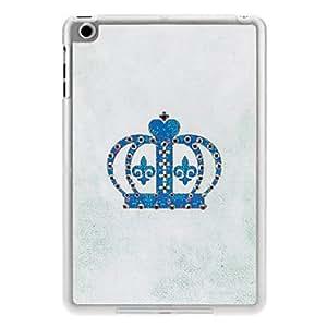 Wohai Gadget Mall - Corona del caso del patrón duro PC Look Diamante con mate capítulo transparente para el mini iPad