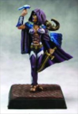 Reaper Miniatures 60141 Pathfinder Series Lady Moray, Bard Miniature