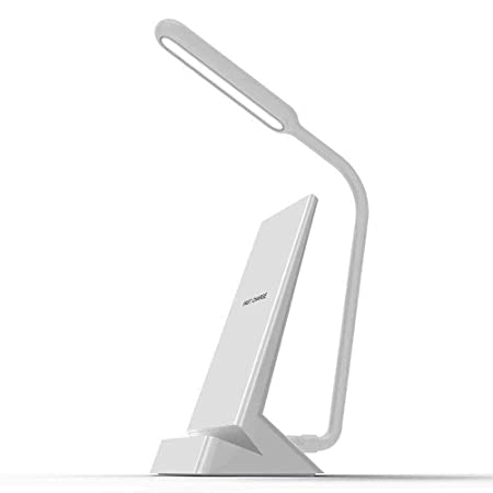MBESSR Lámpara de Mesa Qi Carga inalámbrica LED lámpara de ...