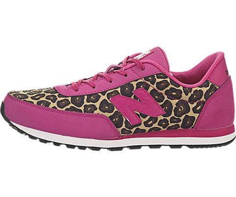8e5643f8f6ad4 New Balance KL501 Youth Lace Up Running Shoe (Little Kid/Big  Kid),Pink/Leopard Print,7 M US Big Kid
