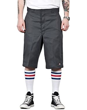 13'' Flat Front Work Short - Charcoal Dickies42283 Classic Mens Shorts
