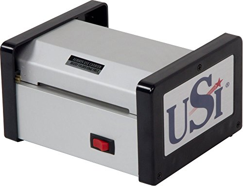 USI HD400 Heavy Duty Thermal (Hot) Pouch Laminator, Laminates Pouches up to 4 Inches Wide and 15 Mil Thick; 5-Year Warranty, Made in The USA ()