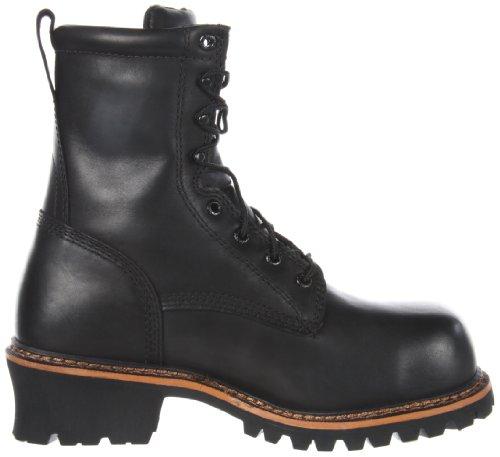 Irish Setter Hombres 83818 8 Bota De Trabajo No Metálica Con Punta De Seguridad Negra