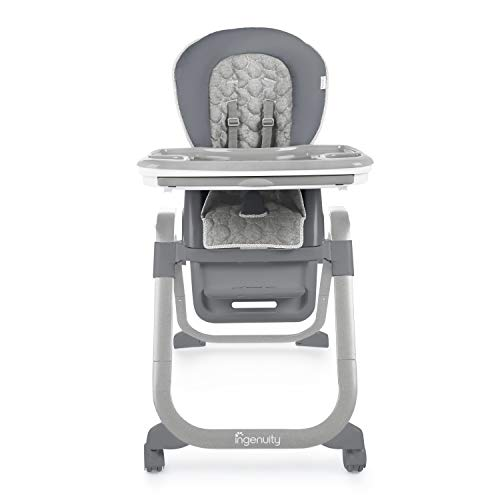 Ingenuity SmartServe 4-in-1 High Chair with Swing Out Tray - Connolly - High Chair, Toddler Chair, and Booster