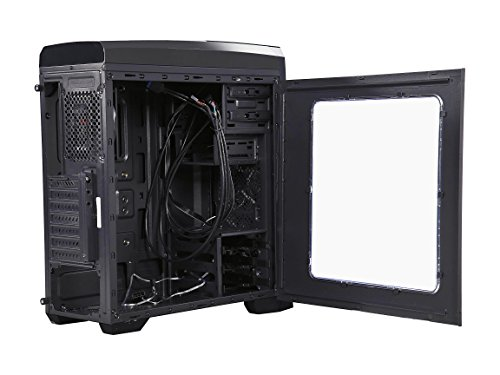 Rosewill CASE Nautilus Gaming ATX Mid Tower Computer Case, Supports up to 380 mm Long VGA Card, 3 Fans Pre-Installed, Side-Window Panel by Rosewill (Image #5)