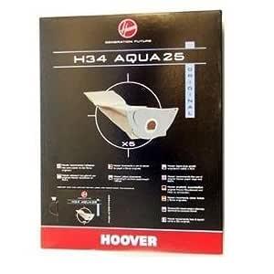 H34 s5135 (5) bolsas para aspirador hoover wet & s5135 dry: Amazon ...