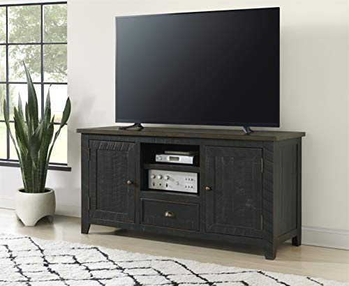 Martin Svensson Home Monterey TV Stand, White with Grey Top