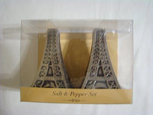 (Eifel Tower Salt & Pepper Shaker Set)
