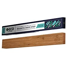 Magnetic Knife Strip Wood