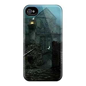 Awesome Dark Souls New Londo Ruins Flip Cases With Fashion Design For Iphone 6
