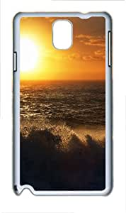 Samsung Galaxy Note 3 N9000 Cases & Covers -Sunset 16 Custom PC Hard Case Cover for Samsung Galaxy Note 3 N9000¨C White