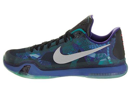 Basket crt da Glow Verde Nike X Prpl Gris Multicolore Morado Uomo Rflct Kobe Slvr Emrld Scarpe qwIwUx