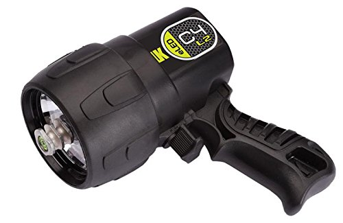 (Underwater Kinetics C4 eLED (L2) Dive Light, Black )