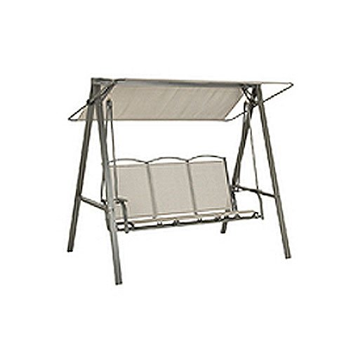 OPEN BOX – Replacement Canopy Top Cover for the Garden Treasures Baja Swing – 350 For Sale
