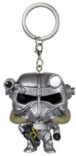 Funko POP Keychain: Fallout - Power Armor Figure