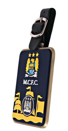 Manchester City F.C. Bag Tag and Marker