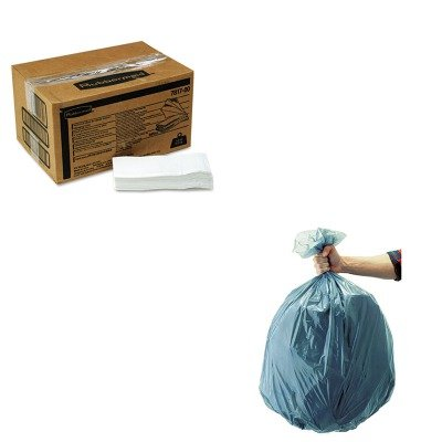 KITRCP501188GRARCP781788WE - Value Kit - Rubbermaid Sturdy Station 2 Baby Changing Table Liners (RCP781788WE) and Rubbermaid 5011-88 Tuffmade Polyliner Low-Density Can Liners, 55 Gallons (RCP501188GRA)