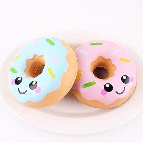 MTSZZF 1 paquete Donut Super Loafers Emoji Extruye juguetes de eliminación de estrés: Amazon.es: Juguetes y juegos