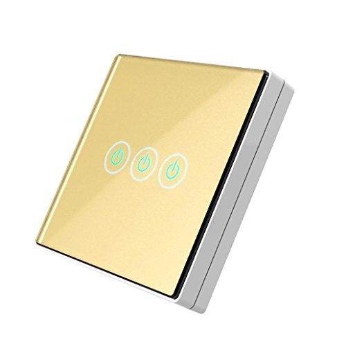 Minshao 3Wall Switch Kapazitive Handschalter Wireless Remote Control ...