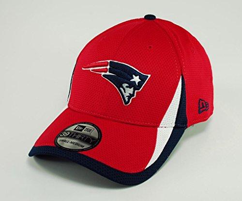 NFL New England Patriots Reverse Team Color Training 39THIRTY Cap, Medium/Large (New Sun Visor Patriots England)