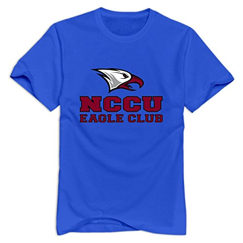 - Tavil North Carolina Central Eagles Short Sleeve T Shirt For Men RoyalBlue Size XXL