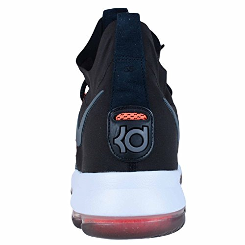 Basketball dark Grey NIKE KD9 Black White Mens Shoes Elite Zoom 878637 wxZIqfO