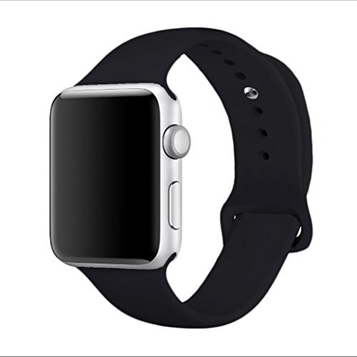 Yimzen Soft Silicone Sport iWatch Band Strap for Apple Watch