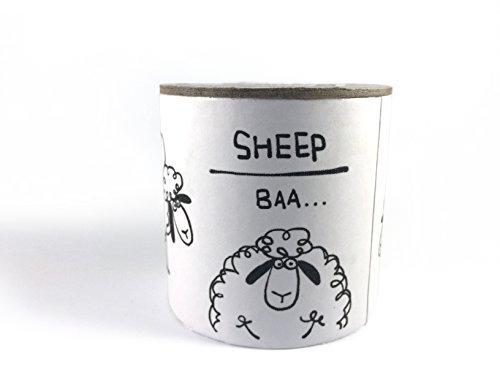 UPC 793631545360, Zetti Animal Sound Maker Can Noise Maker Toy - Sheep Baa - White
