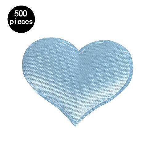 Roche.Z 500 Pieces Sponge Heart Confetti Love Heart Shaped Flowers Petals DIY Crafts Sponge Confettis Bed Table Decoration for Valentine's Day Wedding - Love Flower Arrangement