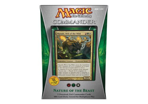 Magic the Gathering - EDH Commander 2013 - Nature of the Beast - Marath, Will of the Wild by Magic  the Gathering