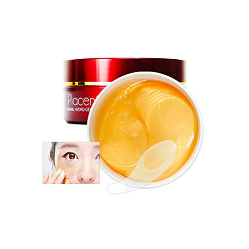 Berrisom - Placenta Firming Hydro Gel Eye Patch - 60 x Pieces - Skin Care - Anti Wrinkle - Anti (Placenta Anti Aging)