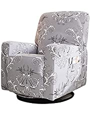 Stretch Recliner Covers, Stretch Printed Recliner Chair Slipcovers, Washable Sofa Slipcovers Furniture Protector with Remote Pocket