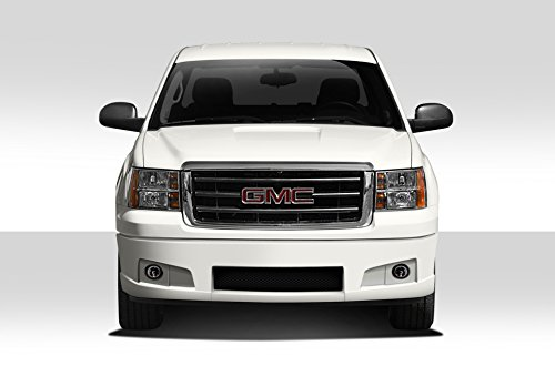 - Duraflex Replacement for 2007-2013 GMC Sierra BT-1 Front Bumper Cover - 1 Piece (Lower Cover only)