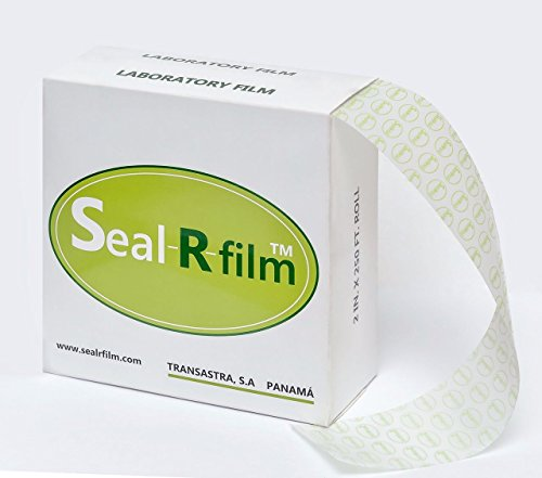 TRANSASTRA Seal-R-Film Moisture Proof Self-Sealing All-Purpose Plastic Paraffin based Laboratory Film, rolls of 2 inches X 250 feet on 1 inch Core by Seal-R-Film