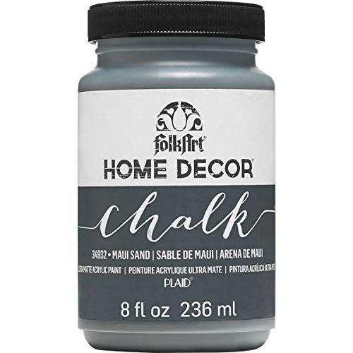 FolkArt Home Decor Chalk Paint 8oz, Maui Sand (Furniture Stores Maui)