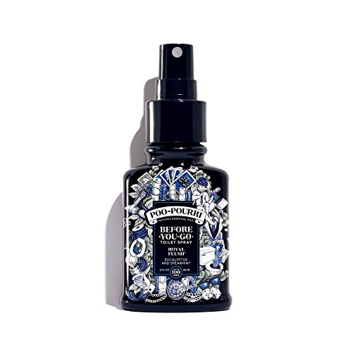 - Poo-Pourri Before-You-Go Toilet Spray 2 oz Bottle, Royal Flush Scent